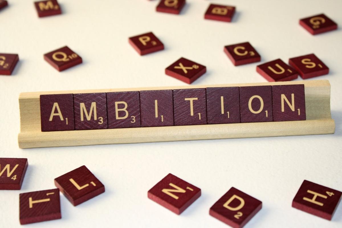 ambición es buena