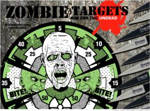 cuchillos contra zombies