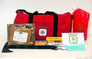 kit de emergencia zombie