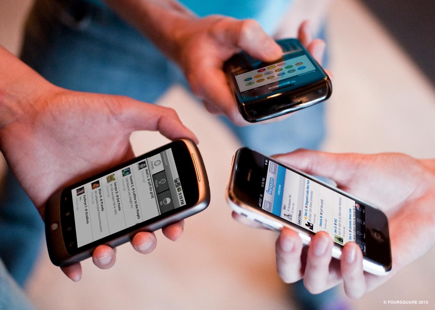 smartphones y los eventos