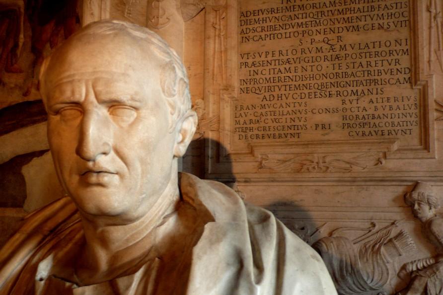 cicerón y los seis errores del hombre