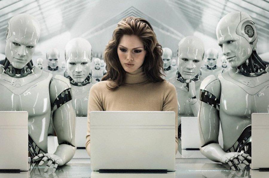 robots y los empleos en el futuro